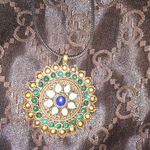 Jewelry - Nepal gemstone pendant